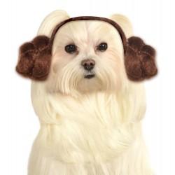 Star Wars Princess Leia Dog Headband - Medium/Large