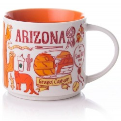 Starbucks Arizona Grand Canyon Mug Been There Series 2018