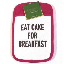 Kate Spade New York Eat Cake for Breakfast Pink Pot Holder