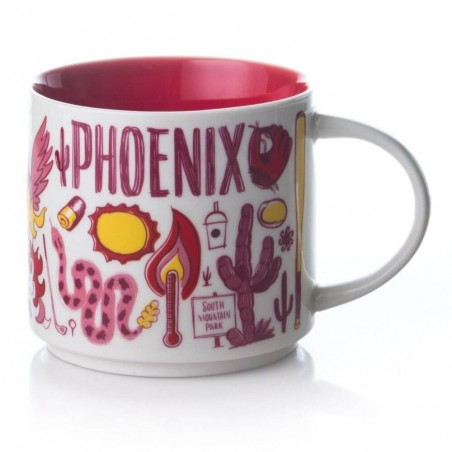 Starbucks Phoenix Mug Been There Series 2018