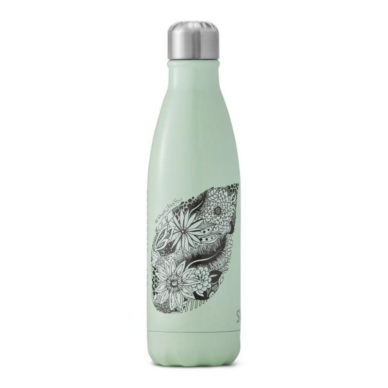 Starbucks S'well Kelsey Montague Mermaid Green Water Bottle
