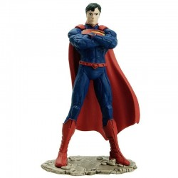 Schleich Superman Kneeling Action Figure - Justice League