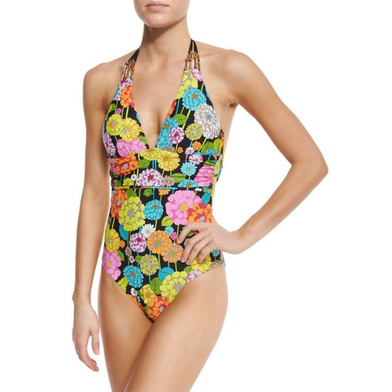 Trina Turk Floral Santiago California Swimsuit