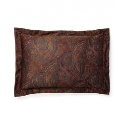 Ralph Lauren Archival Frazier Paisley Olive Cotton Pillow Sham - Standard