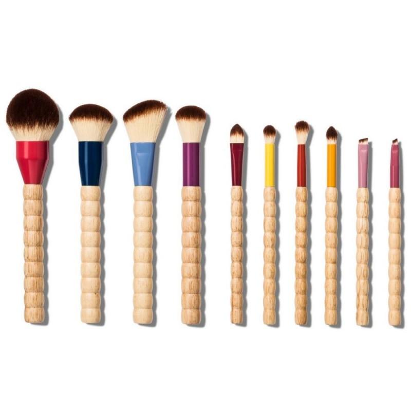 Sonia Kashuk Limited Edition Beaded 10-Piece Makeup Brush Set