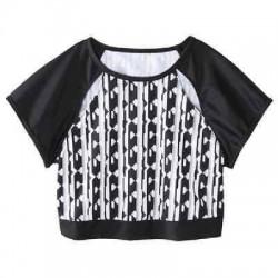 Peter Pilotto Bikini Crop Top - Black & White