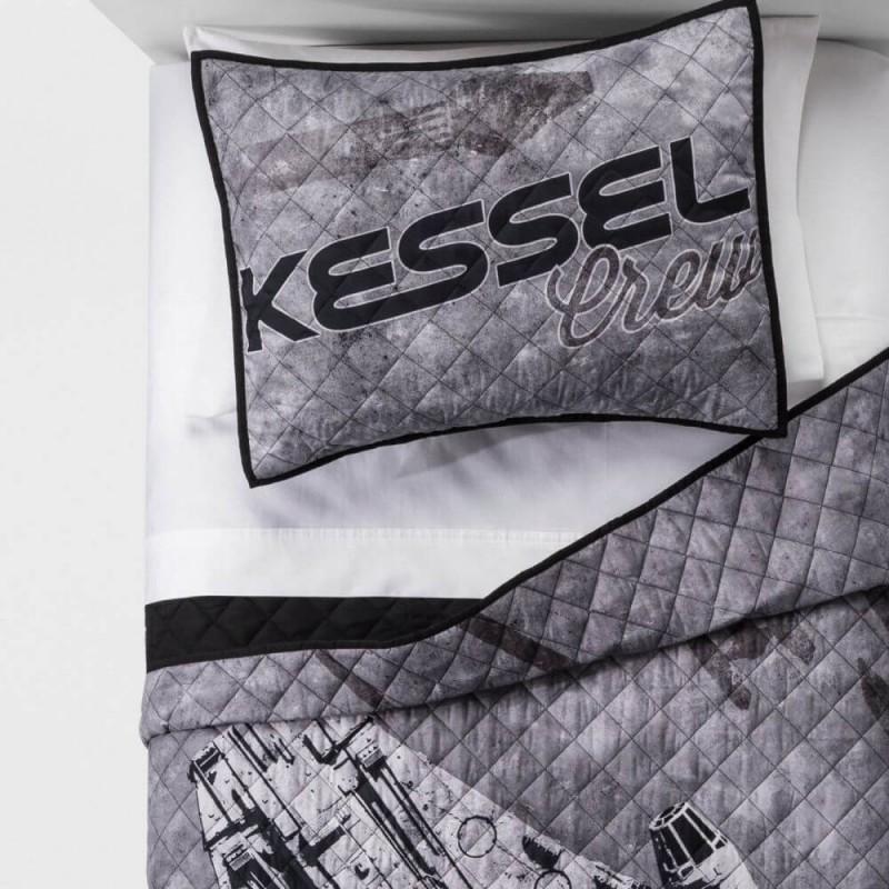 Star Wars Kessel Crew Gray Full Queen Quilt Set
