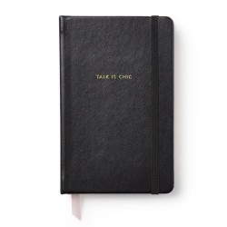 Kate Spade New York Take Note This Just In Black Notebook