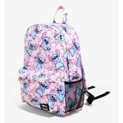 Loungefly Disney Lilo and Stitch Pink Stitch Backpack