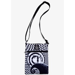 Loungefly The Nightmare Before Christmas Jack & Sally Passport Halloween Crossbody Bag