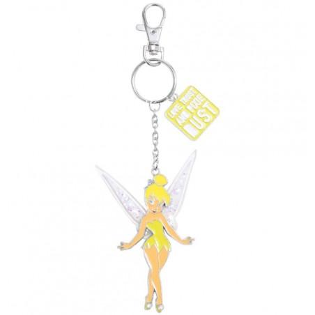 Disney Tinker Bell Glitter Keychain