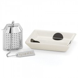Kate Spade New York All in Good Taste Tea Infuser Set