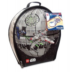 LEGO Star Wars ZipBin Death Star Transforming Toybox Case