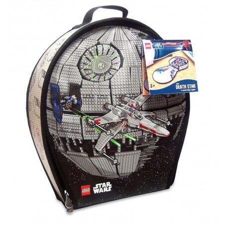 LEGO Star Wars ZipBin Death Star Transforming Toybox Case