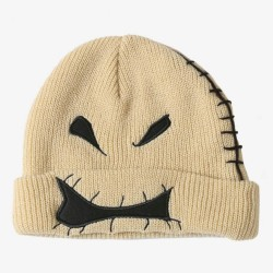 The Nightmare Before Christmas Oogie Boogie Face Watchman Beanie