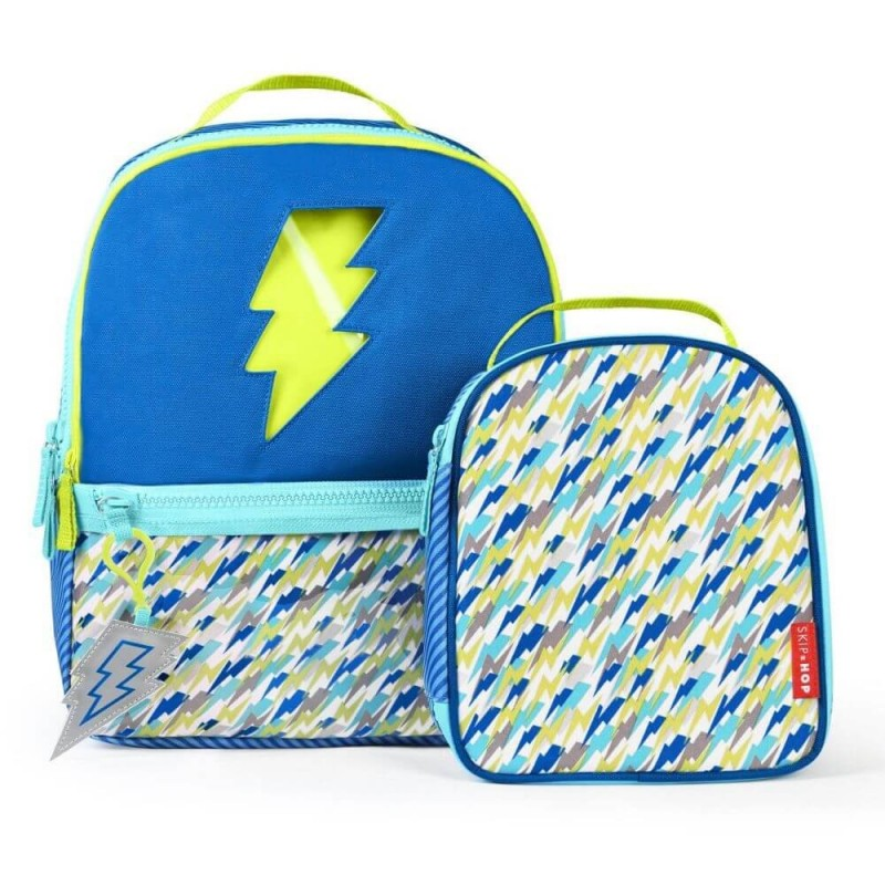 Skip Hop Forget Me not Backpack and Lunch Bag