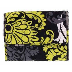 Vera Bradley Euro Baroque Quilted Trifold Wallet