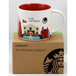 Starbucks San Antonio Mug You Are Here Collection
