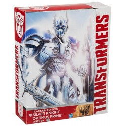 Transformers Platinum Edition Silver Knight Optimum Prime