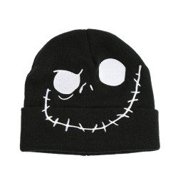 The Nightmare Before Christmas Jack Skellington Face Embroidered Watchman Beanie