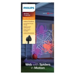 Philips Halloween We with Spiders in Motion LED Motion Projector