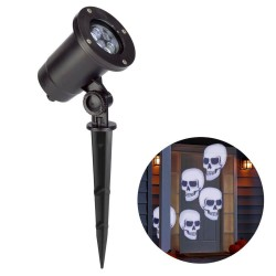 Philips Halloween Cool White Skull LED Motion Projector