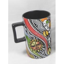 Starbucks Laolu Senbanjo Ceramic Mug Cup