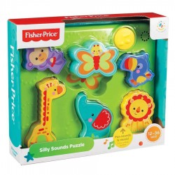 Fisher Price Animal Characters Silly Sounds Puzzle