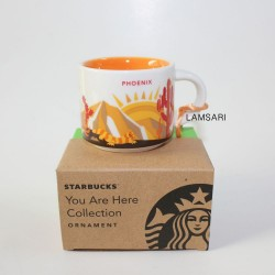 Starbucks Phoenix Demitasse Mug Ornament You Are Here Collection