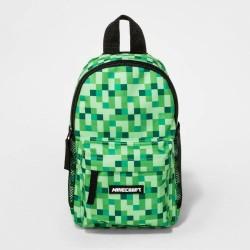 Minecraft Kids Green Sling Crossbody Bag Pack by JINX