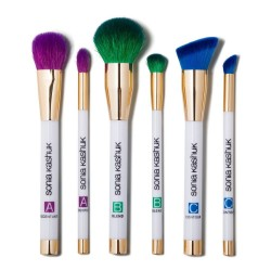 Sonia Kashuk Art of Makeup ABC 6-Piece Brush Set - Limited Edition