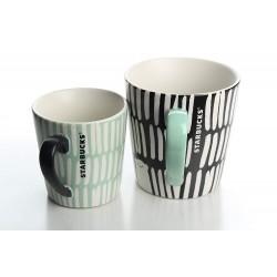 Starbucks 2016 Holiday 2-Pc Polar Bear Ceramic Cup Mugs