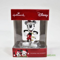 Hallmark Disney Mickey Mouse with Scarf Christmas Tree Ornament