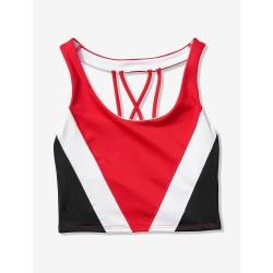 Victoria's Secret Ultimate Strappy Back Red Pepper Sports Bra Size M