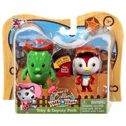 Sheriff Callie's Wild West Toby and Deputy Peck Collectible Figures