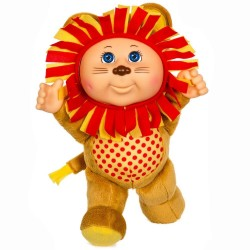 "Cabbage Patch Kids 9"" Austin Lion Zoo Friends Cutie Doll Plush"