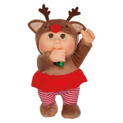 "Cabbage Patch Kids Holiday Helper Everly Reindeer 9"" Doll Plush"