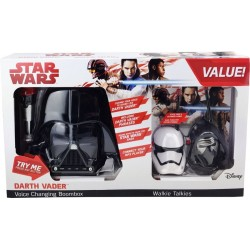 Star Wars Darth Vader Voice Changing Boombox with Walkies Talkies Set