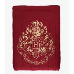 Harry Potter Gold Foil Hogwarts Crest Full/Queen Super Soft Comforter