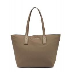 March Jacobs Nylon Wingman Stone Grey Tote Bag