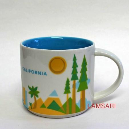 Starbucks California Mug You Are Here Collection 14 Fl Oz