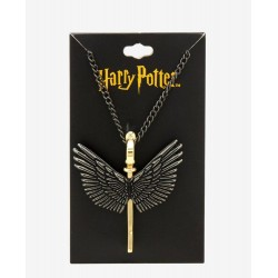 Harry Potter Metal Flying Key Pendant Necklace