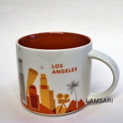 Starbucks Los Angeles Mug You Are Here Collection 14 Fl Oz