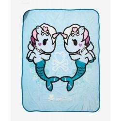 Tokidoki Mermicorno Plush Throw Blanket