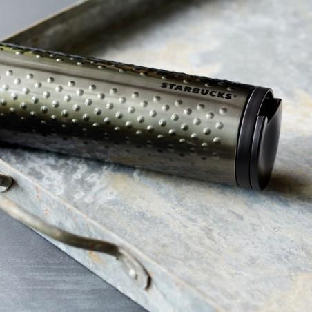 Starbucks Stainless Steel Dot Tumbler - Charcoal, 16 Fl Oz
