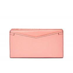 Fossil Caroline Cherry Blossom RFID Slim Leather Bifold Wallet