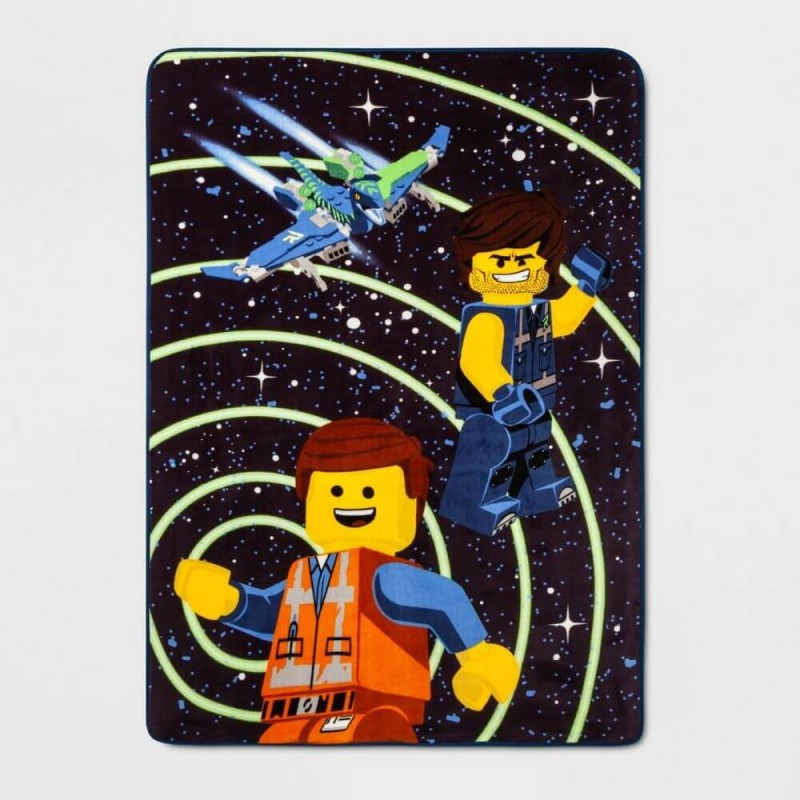Lego Movie 2 The Good Guys Twin Full Super Soft Plush Blanket