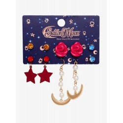 Sailor Moon Sailor Guardians Cosplay Earring Set