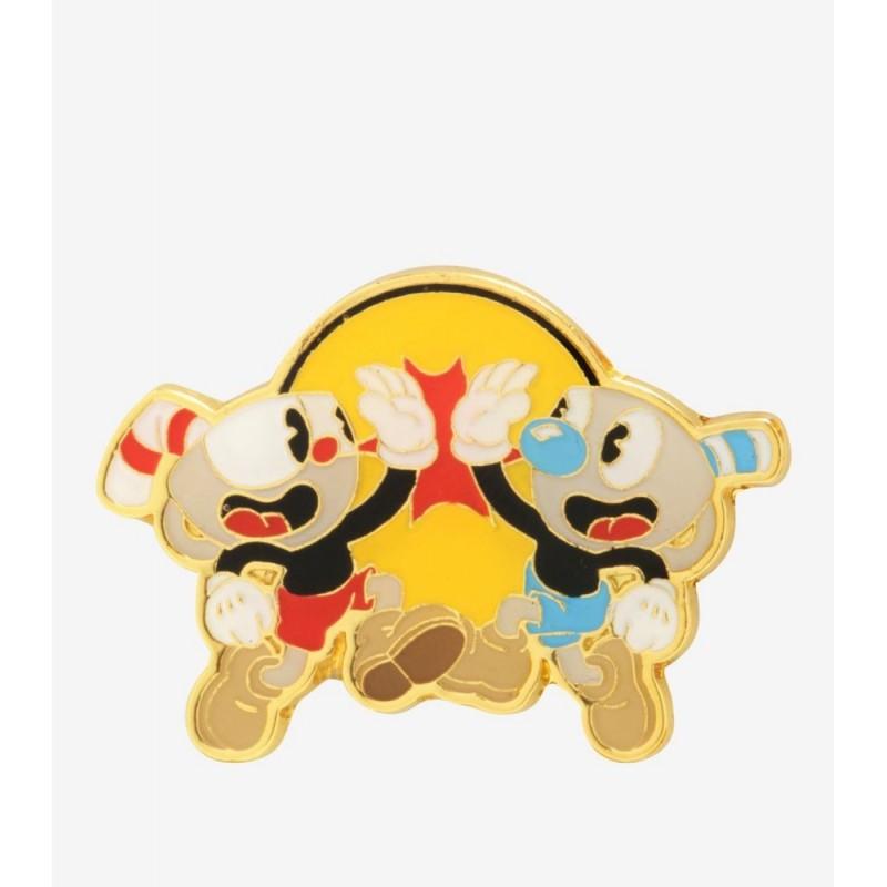 Cuphead Mugman Brothers Enamel Pin