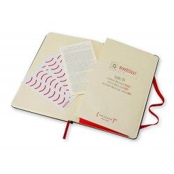 Moleskine Special Edition One Red AIDS Day Hardcover Notebook